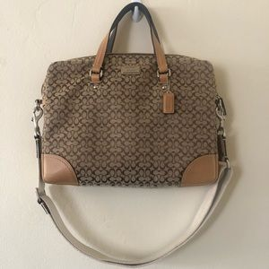 Coach Brief/Laptop Bag